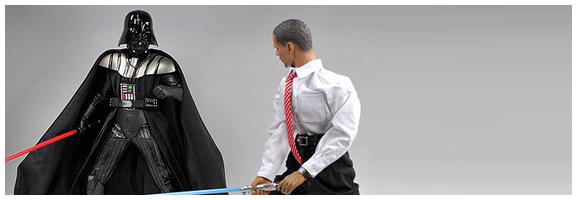 Good Versus Evil - Obama vs Darth Vader