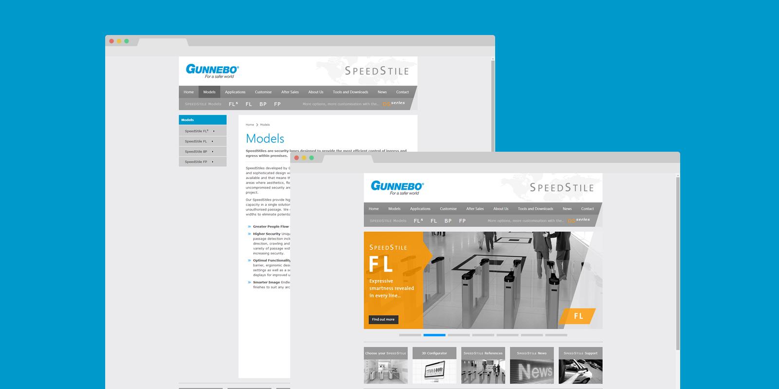 PinkPetrol SharPoint Branding - Gunnebo
