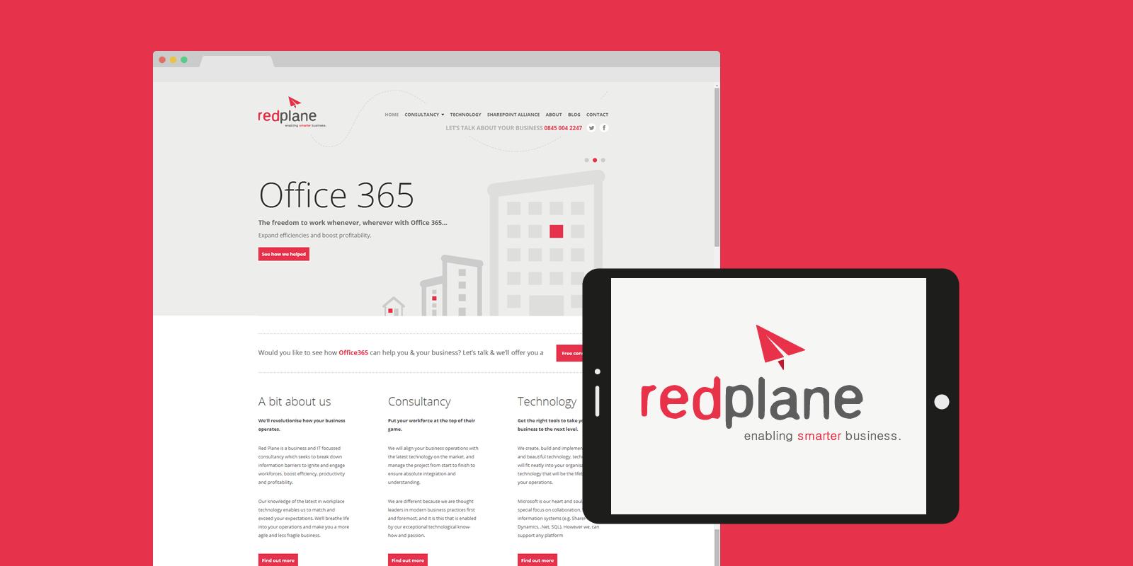 PinkPetrol SharePoint Design Branding - RedPlane