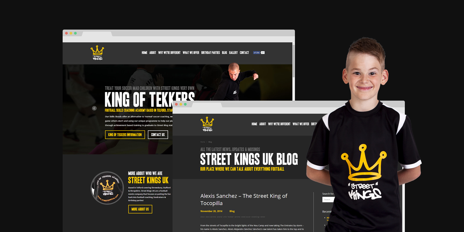 PinkPetrol Office356 SharePoint Branding - Street Kings UK