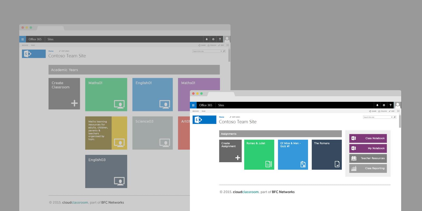PinkPetrol SharePoint Design Branding - cloudclassroom