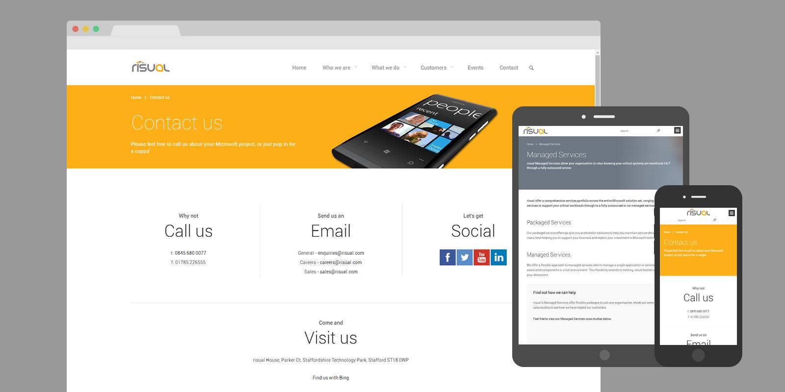 PinkPetrol SharePoint Design Branding - risual